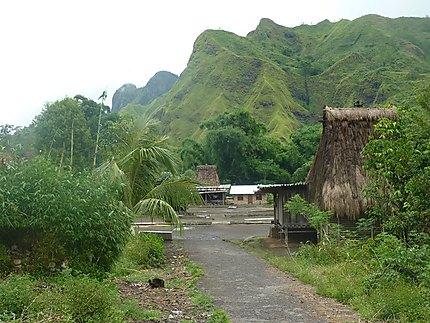 Village Ngada des environs de Bajawa