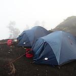 Campement au Mont Rinjani