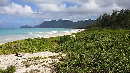 Bellows beach - Oahu