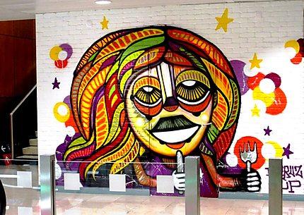 Street art (Da Cruz) à Orly sud