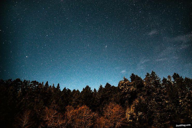 Ciel étoilé au Sooke Regional Park