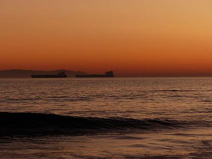 Coucher de soleil sur Sunset beach