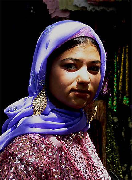 Jeune femme kurde