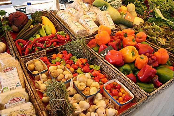 Balades dans les marchés de Provence
