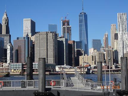 Liberty Tower, vue prise depuis Brooklyn Bridge