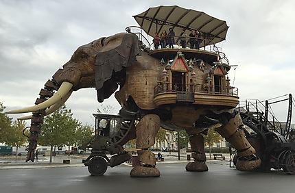 L'éléphant mécanique