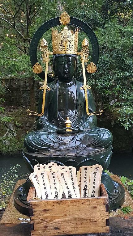 Statue au mont Koya