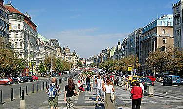 Václavské náměstí (Place Venceslas)