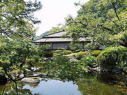 Jardin de l'ancienne résidence des Shimazu