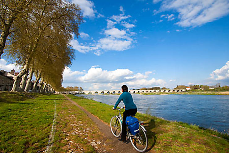 En piste sur la Loire à vélo !