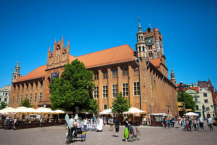 Toruń, la ville de Copernic