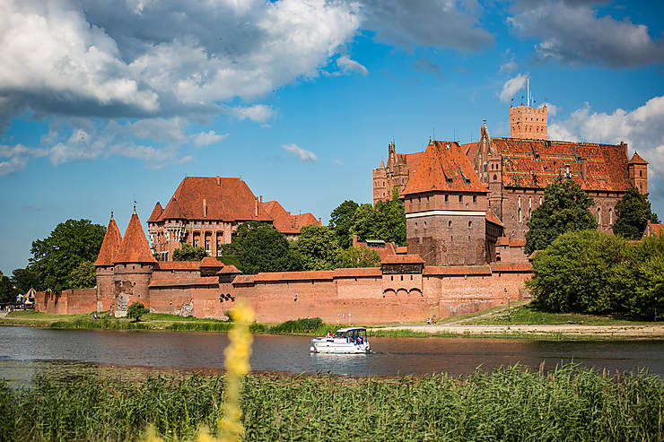 Château de Malbork : dans le sillage des chevaliers Teutoniques