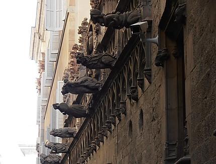 Gargouilles (carrer del Bisbe)