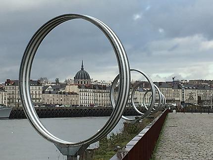 Point de vue sur Nantes
