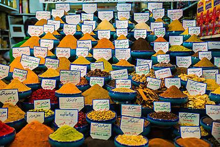 Dans le bazar de Shiraz