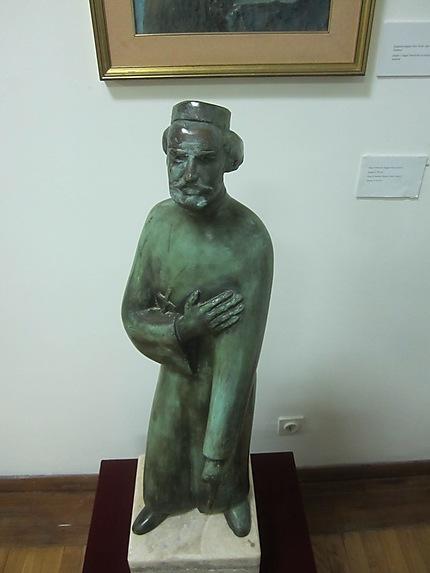 Statue de Petar II Petrović Njegoš