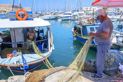 Héraklion, avant la pêche