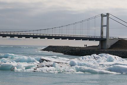 Pont islandais à Jökulsarlón