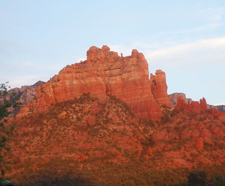 Coucher de soleil à Sedona, Arizona, USA