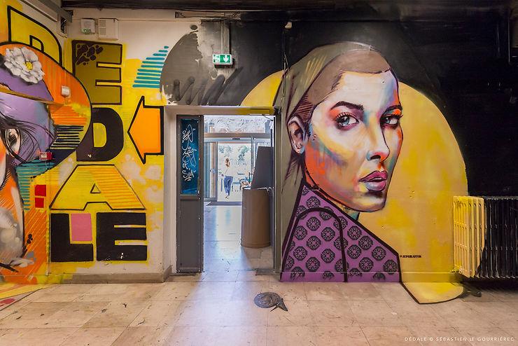Bretagne - Quand Vannes se met au street art...