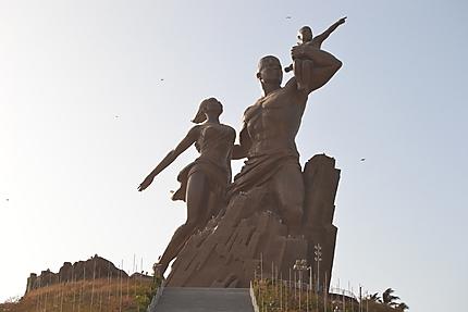 Le Monument de la Renaissance Africaine à Dakar