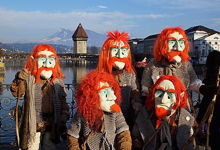 Vue du Carnaval de Lucerne