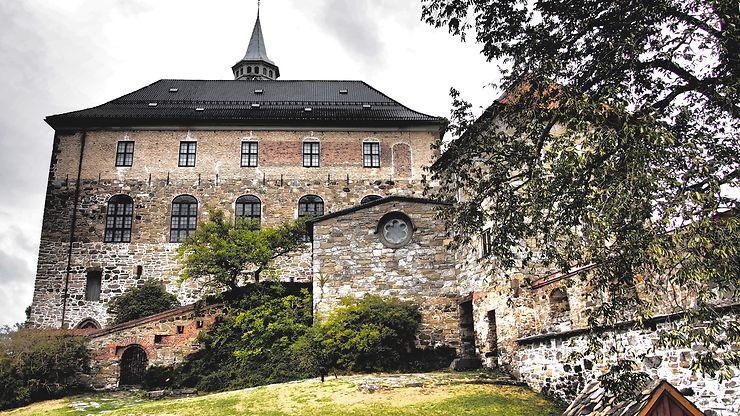 La citadelle d'Oslo, Norvège