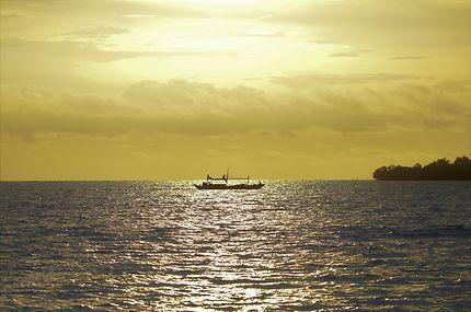 Coucher de soleil à Palawan
