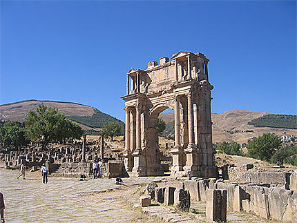 Ruine de Jmila