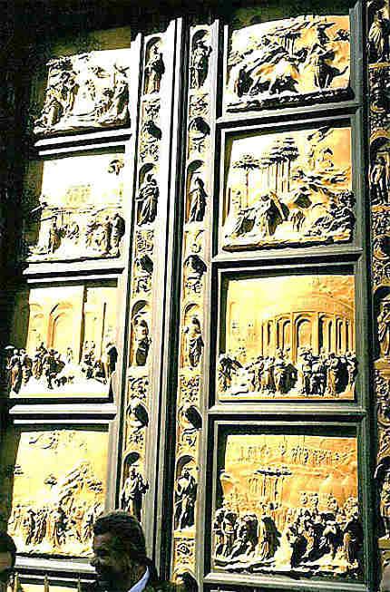 Porte Est du Baptistère