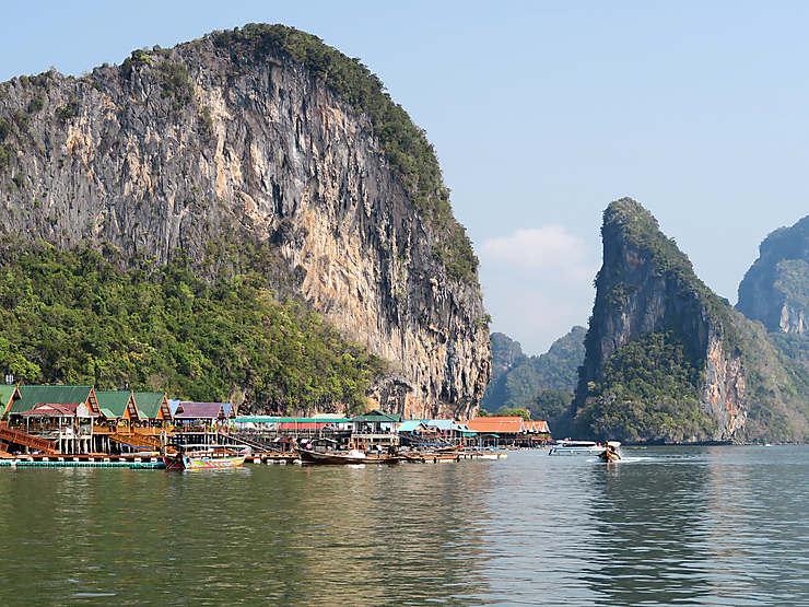 Phang Nga, l'une des plus belles baies d'Asie