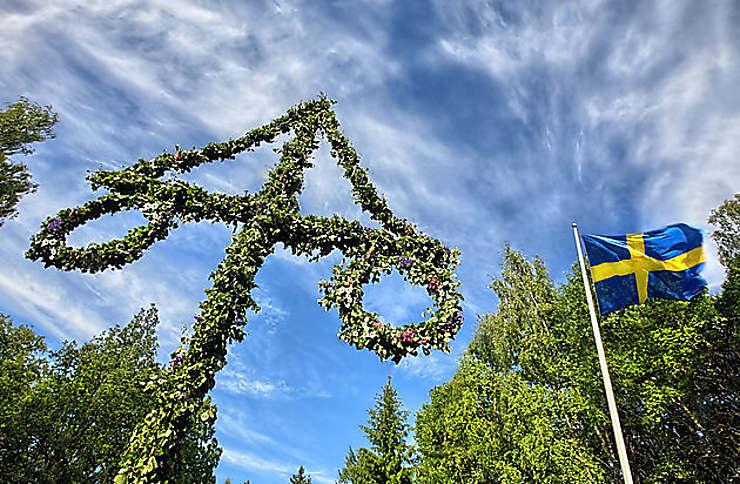 Saint-Jean (Midsommar) en Suède