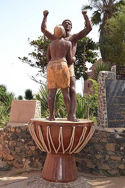 Monument commémorant l'esclavage