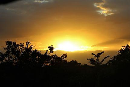 Lever de soleil à Batad