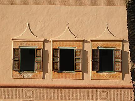 Fenêtres de la Ménara