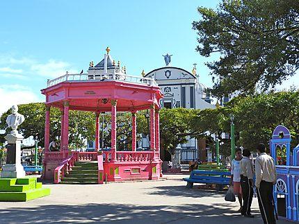 Rivas - Kiosque du parc central