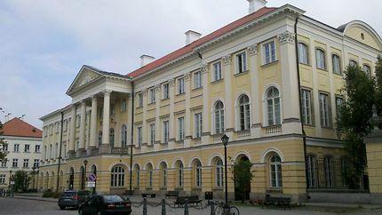Le Palais de Kazimierz à Varsovie