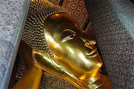 Wat Pho tête du Bouddha