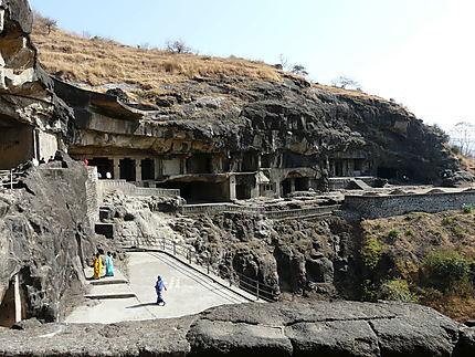 Les grottes d'Elora