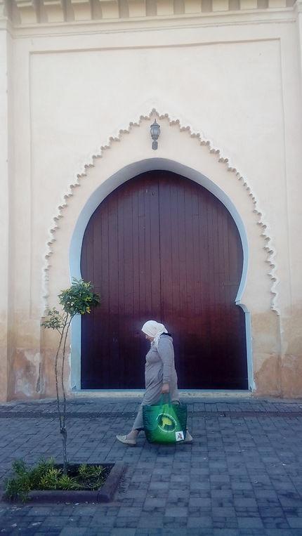 Vie quotidienne, mosquée de Jaidat à Marrakech