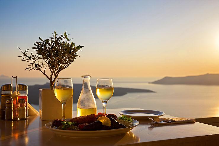 Vins et gastronomie de Santorin