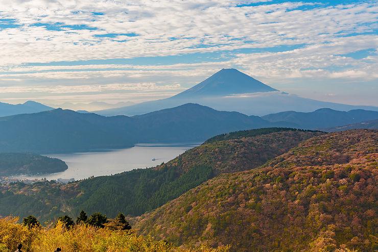 Le Japon, aux couleurs de l'automne et des JO
