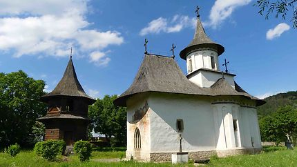 Eglise de Patrauti en Roumanie