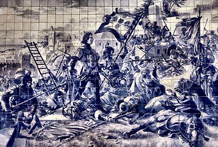 L'histoire en azulejos