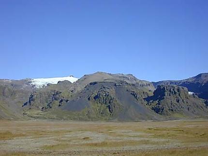Vue sur le Vatnajokull
