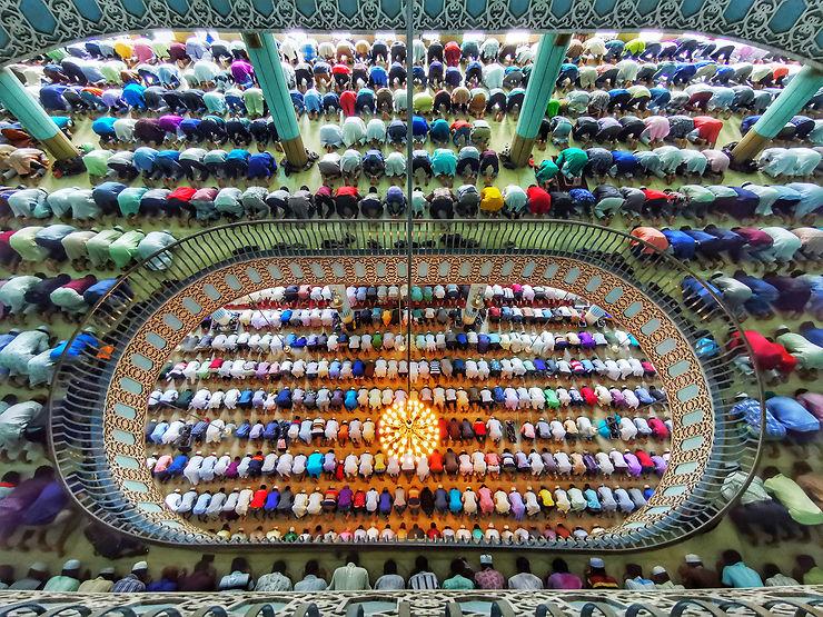 Mosquée nationale du Bangladesh, Dhaka, Bangladesh