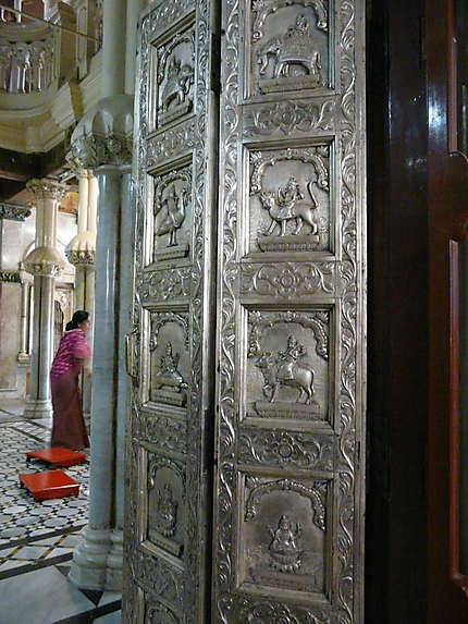Portes travaillées à Malabar Hill
