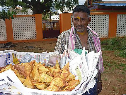Vendeurs de samosas