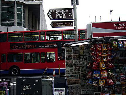 Bus in oxford street