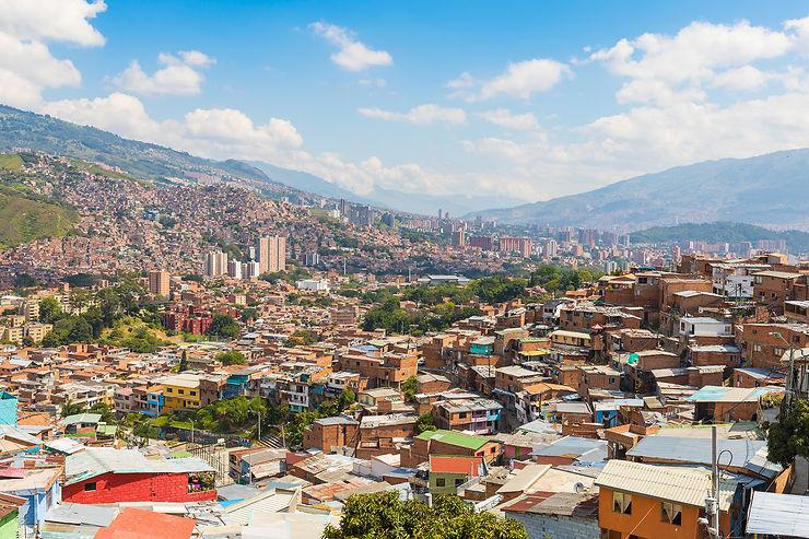 Colombie - Medellin : des couloirs végétalisés pour lutter contre la chaleur